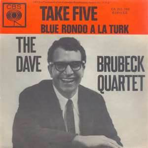 Cover of 'Take Five/Blue Rondo A La Turk' single